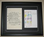THE BEATLES JOHN LENNON - IN MY LIFE HAND WRITTEN LYRICS - LOVE IS YOU AND ME PRINT